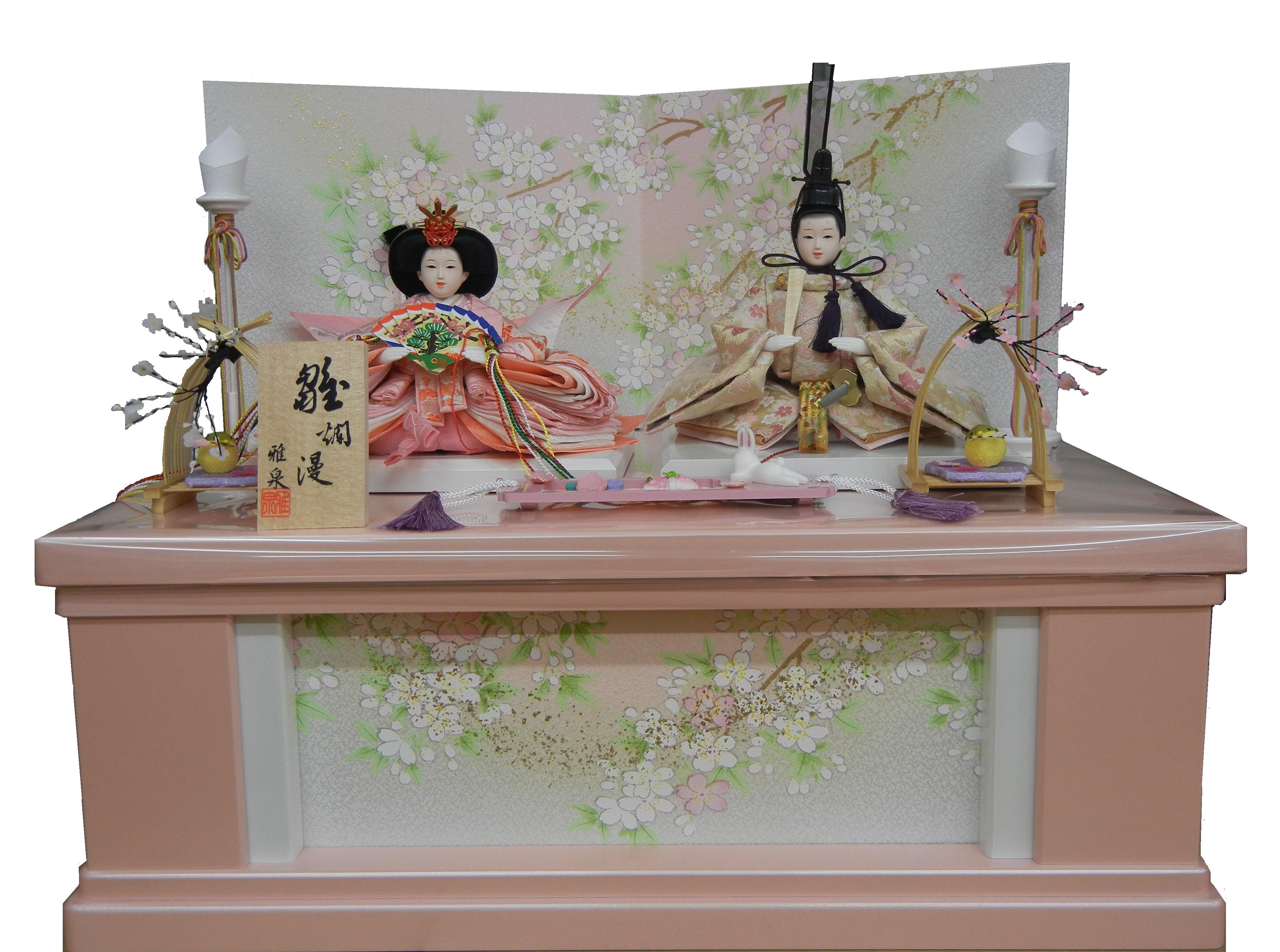 親王飾り(収納箱)