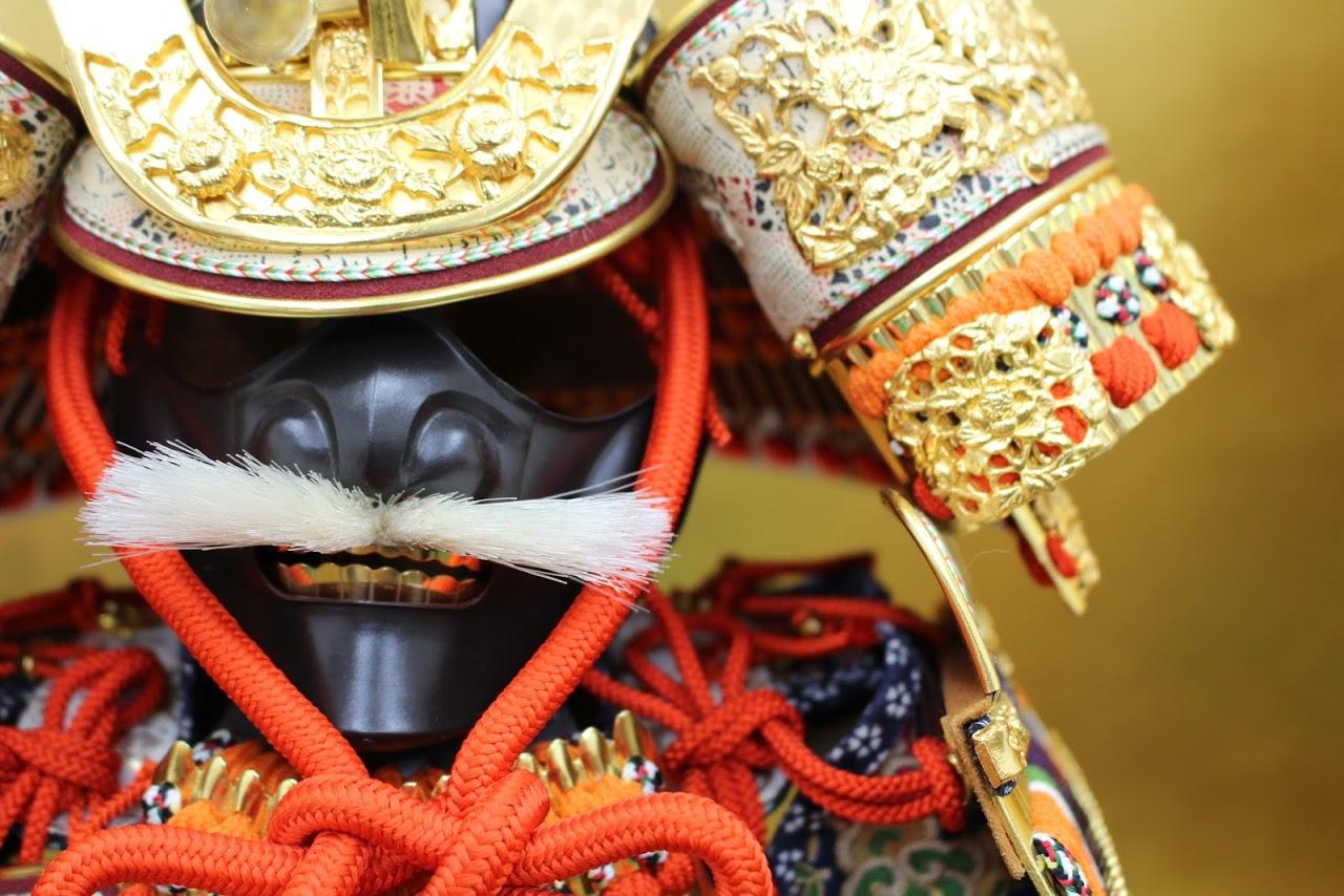 五月人形 大鎧(おおよろい)平安一水(福田人形店)