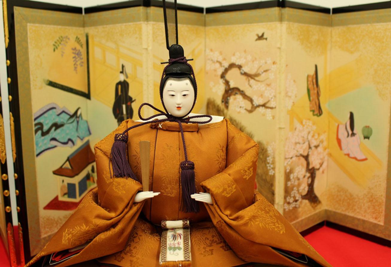 福田人形店 京人形  京製八番親王台 雛人形